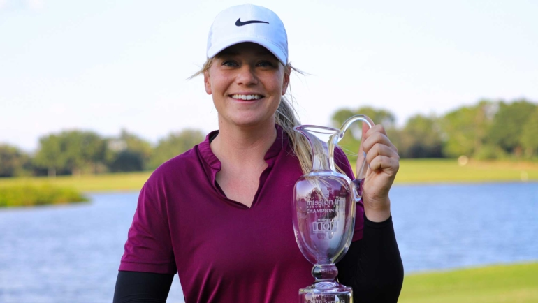 MATILDA CASTREN CAPTURES FIRST PROFESSIONAL VICTORY IN WIRE-TO-WIRE PERFORMANCE AT MISSION INN RESORT AND CLUB